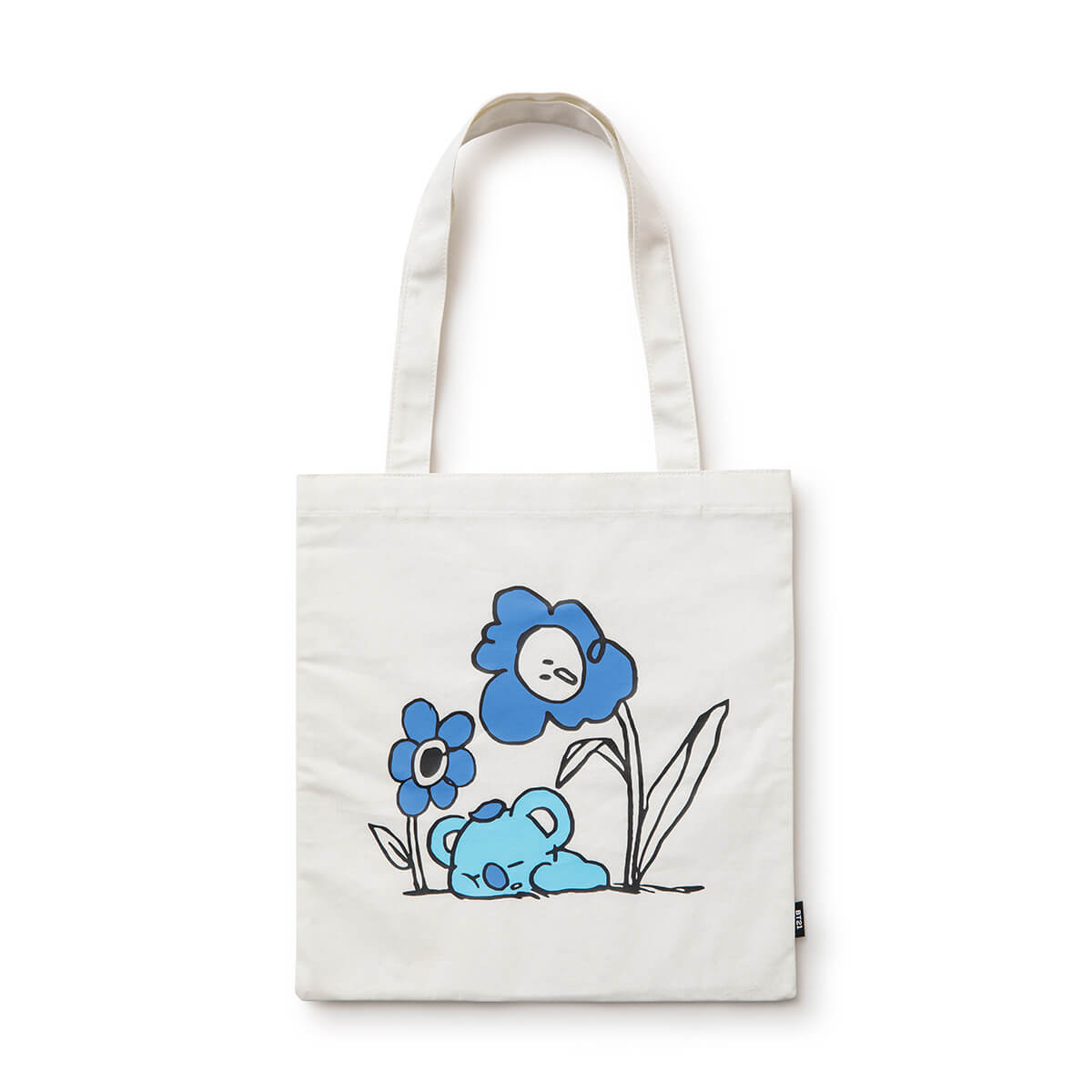 BT21 KOYA Flower Eco Bag Ivory