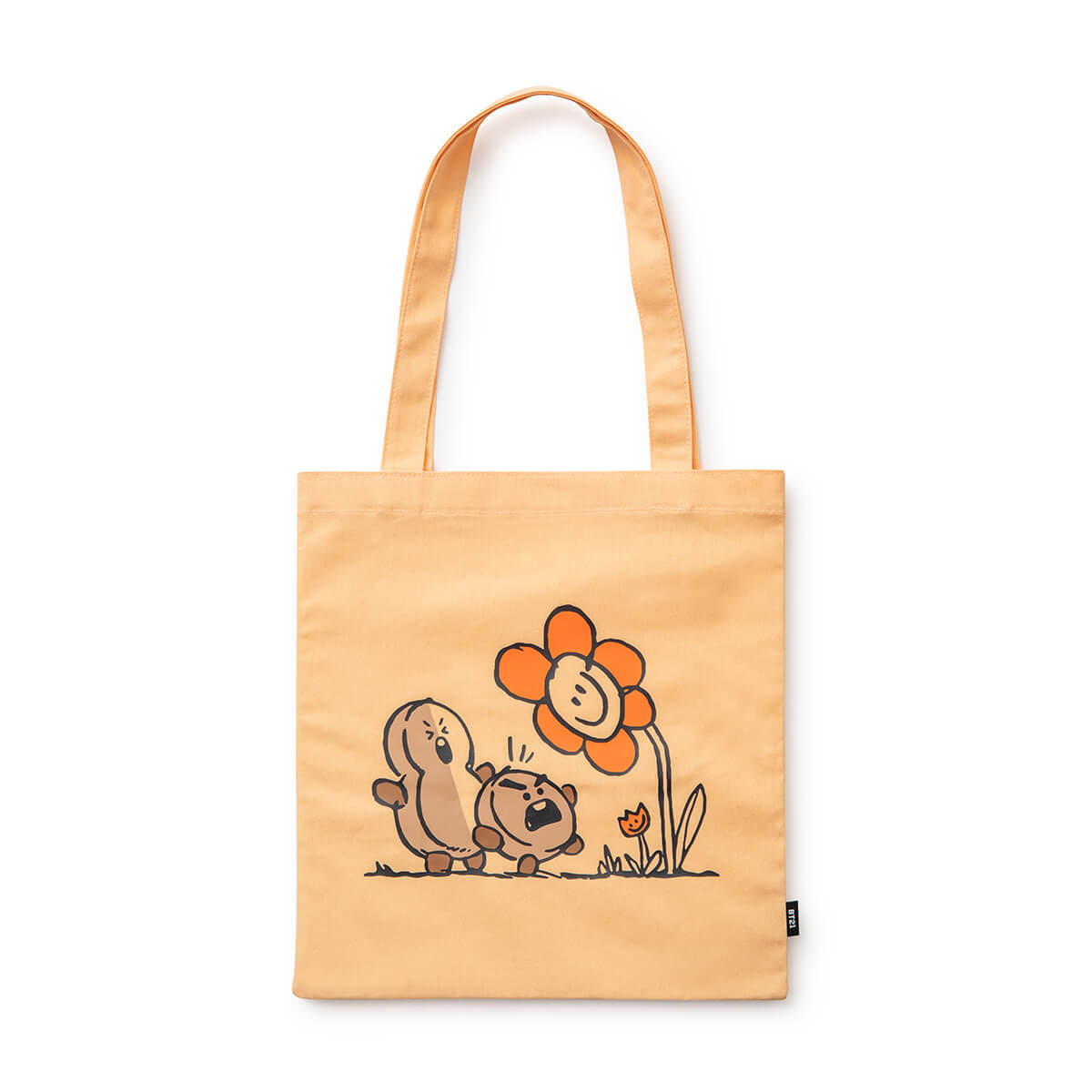 BT21 SHOOKY Flower Eco Bag Light Orange