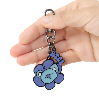 BT21 KOYA Flower Metal Keyring
