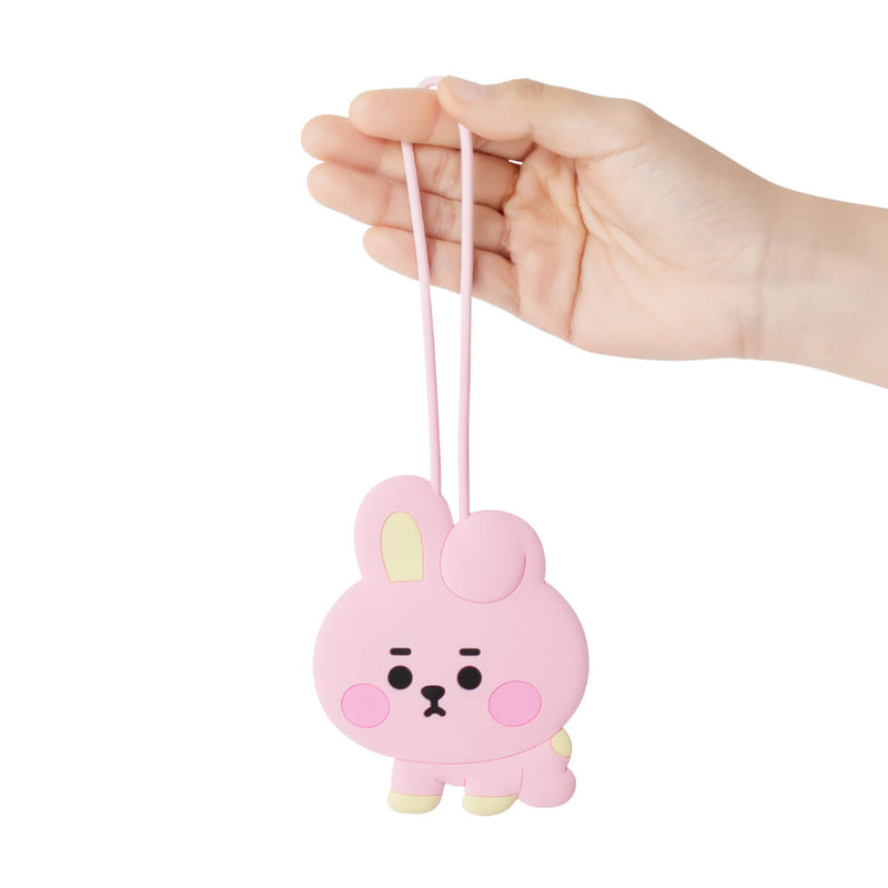 BT21 COOKY Baby Silicone Name Tag