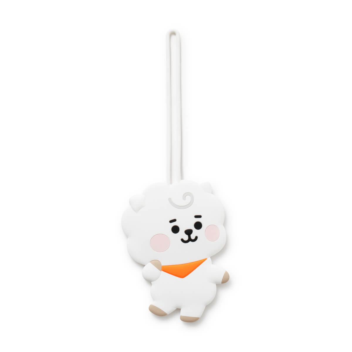 BT21 RJ BABY Silicone Name Tag