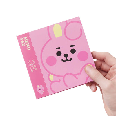 BT21 COOKY Baby Sticky Memo Pad Set