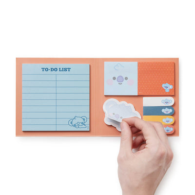 BT21 KOYA Baby Sticky Memo Pad Set
