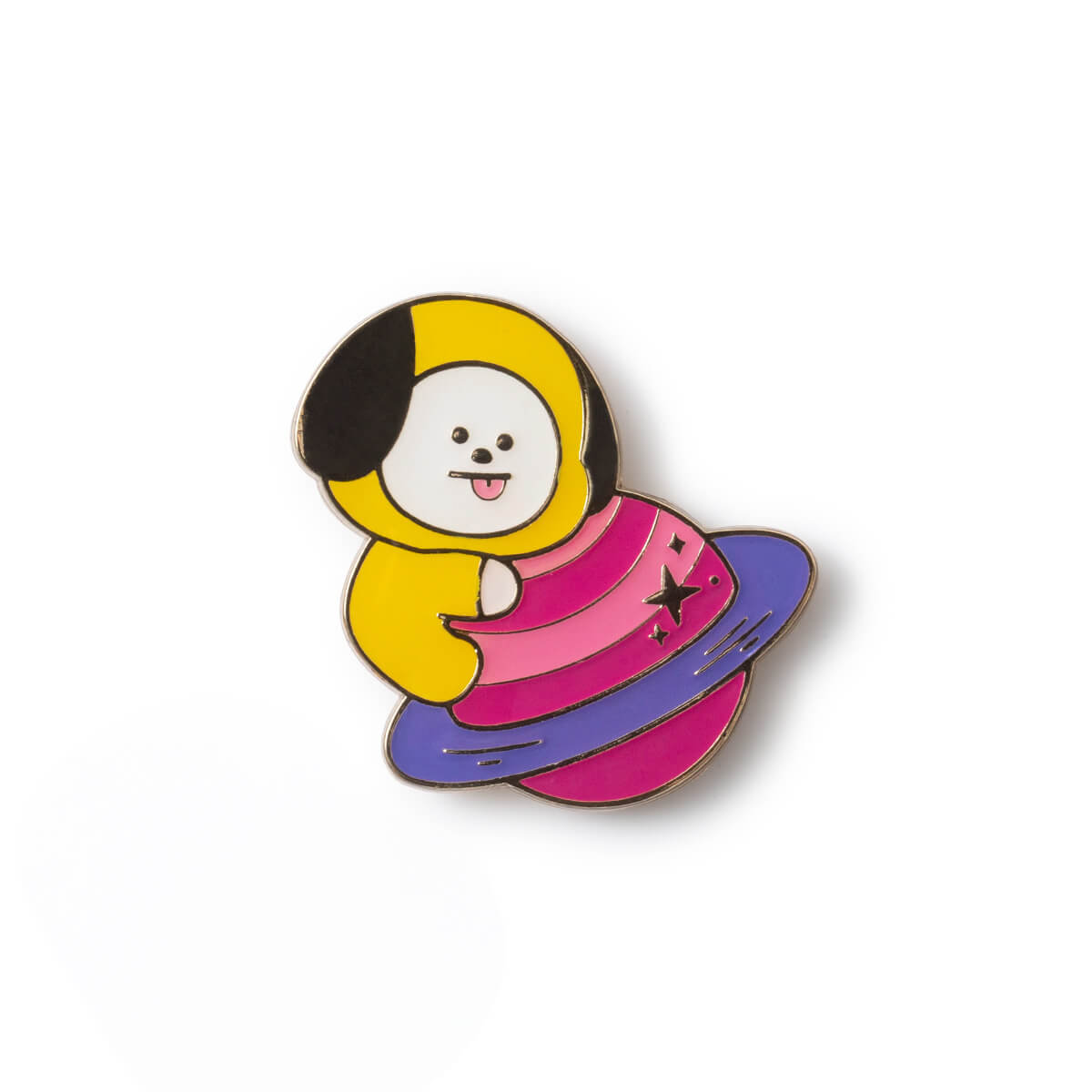 BT21 CHIMMY 20 Space Wappen Metal Badge 2 Piece Set