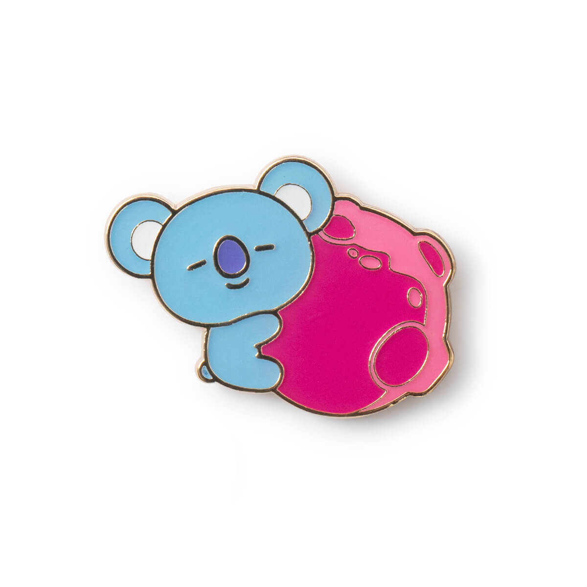 BT21 KOYA SPACE WAPPEN Enamel Pin Set, 2 pcs