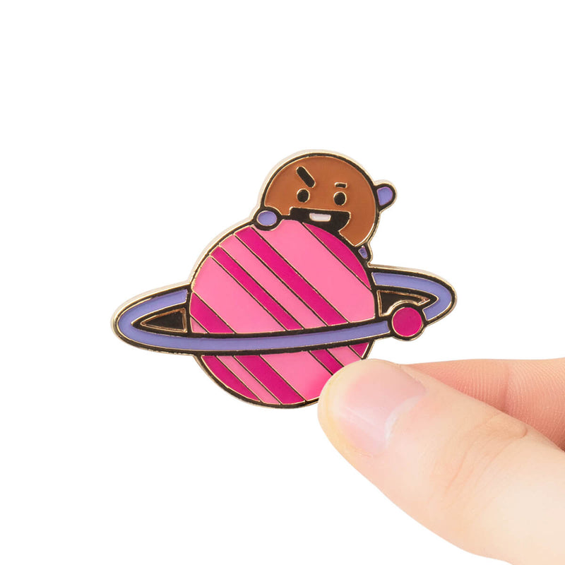 BT21 SHOOKY 20 Space Wappen Metal Badge 2 Piece Set