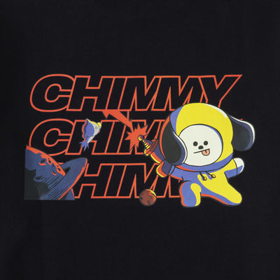 BT21 CHIMMY Space Thunder MTM Sweater Black