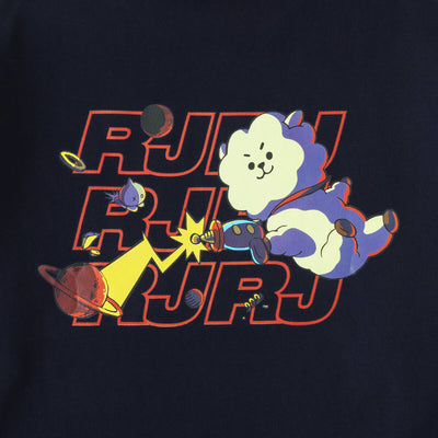 BT21 RJ Space Squad Sweater Black