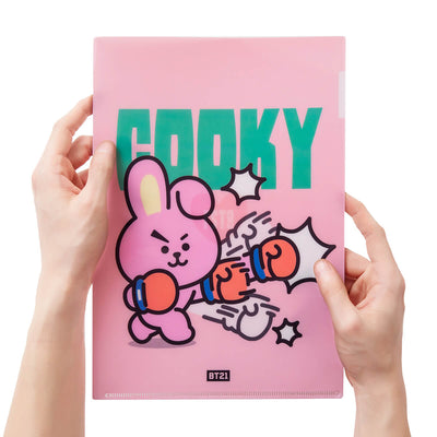 BT21 COOKY Heart PP Folder