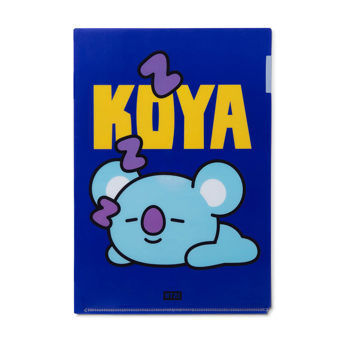 BT21 KOYA Heart PP Folder