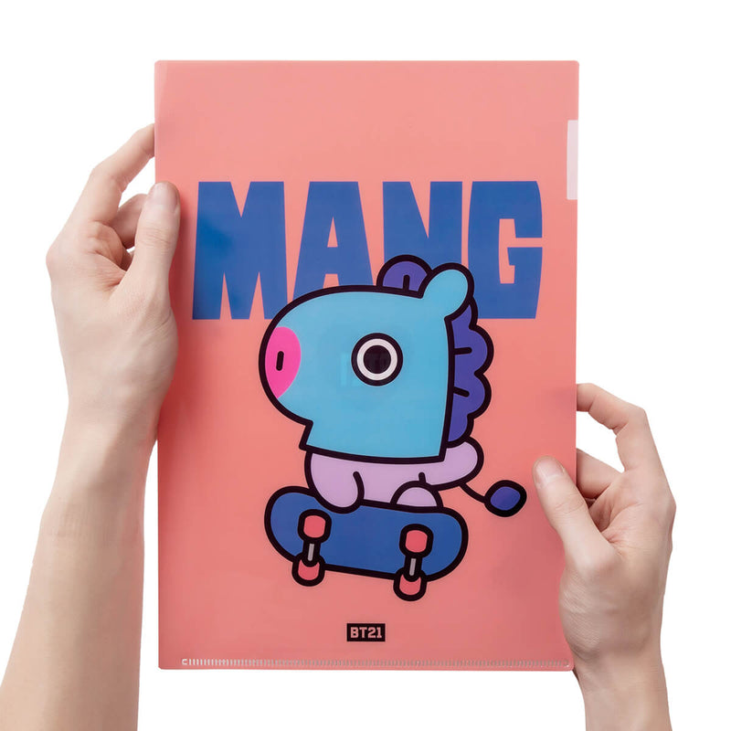BT21 MANG Heart PP Folder