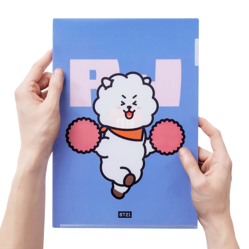 BT21 RJ Heart PP Folder
