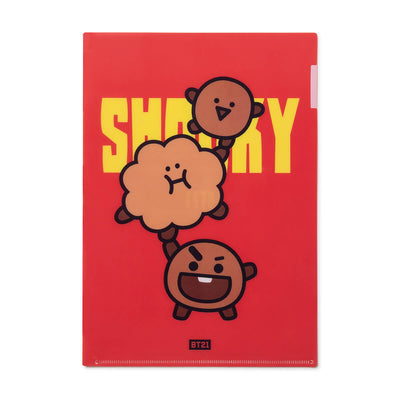 BT21 SHOOKY Heart PP Folder