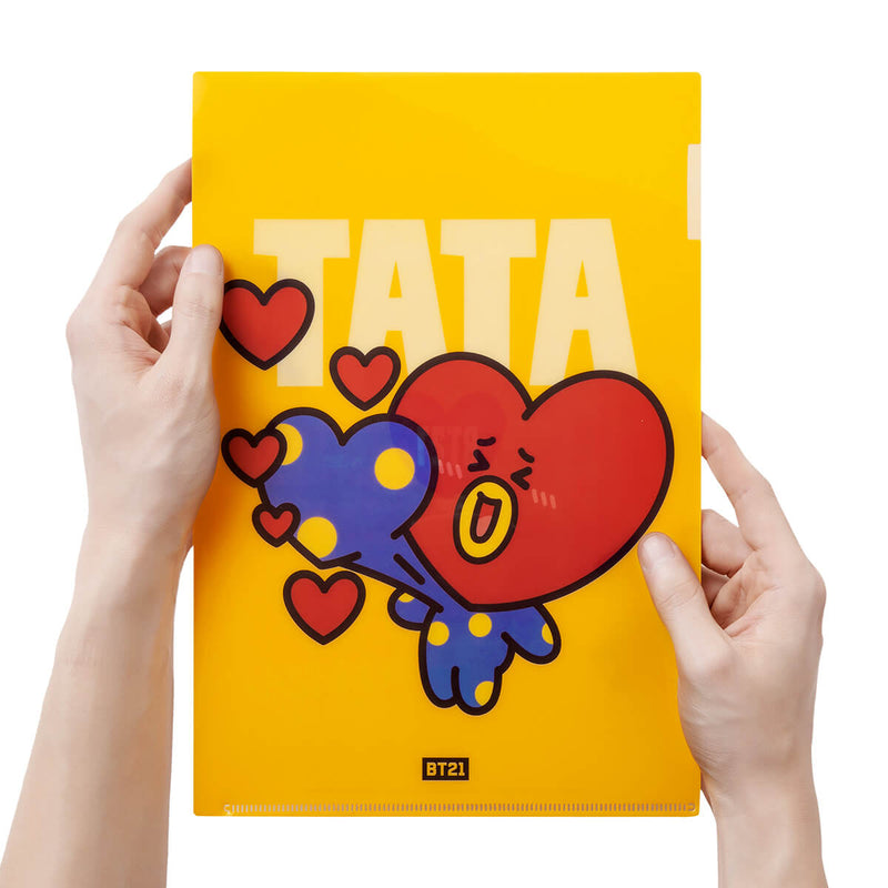 BT21 TATA Heart PP Folder
