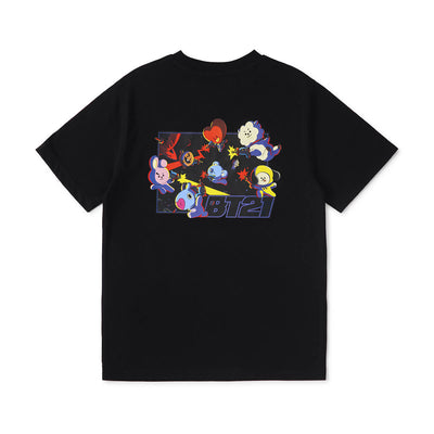 BT21 CHARACTERS Space Squad T-Shirt