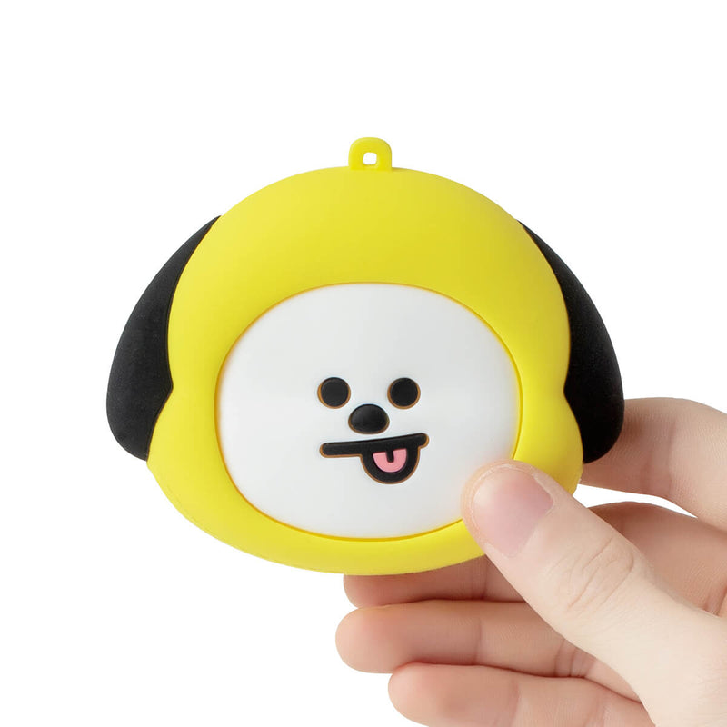 BT21 CHIMMY Silicone Mini Pouch Yellow