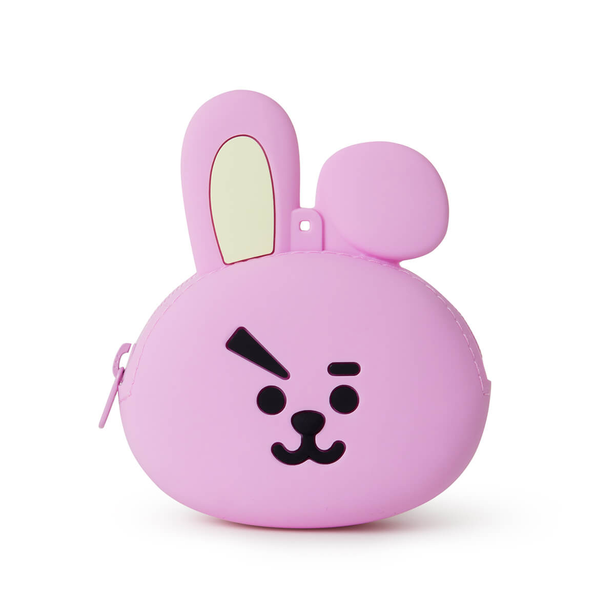 BT21 COOKY Silicone Mini Pouch Pink