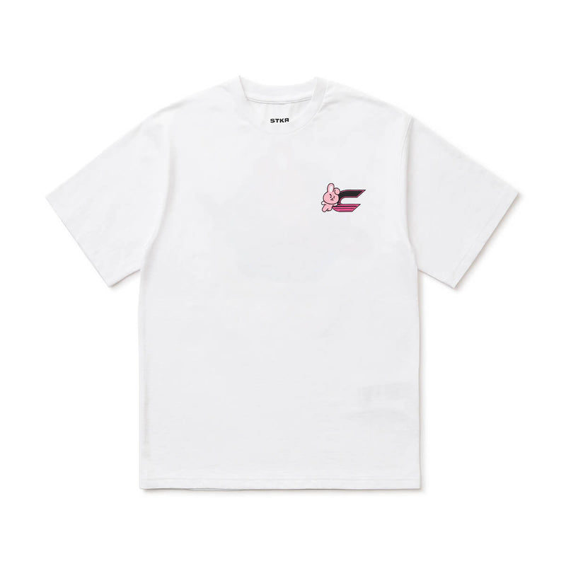 BT21 COOKY 20 Space Wappen T-Shirt White