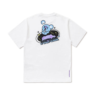 BT21 KOYA 20 Space Wappen T-Shirt White