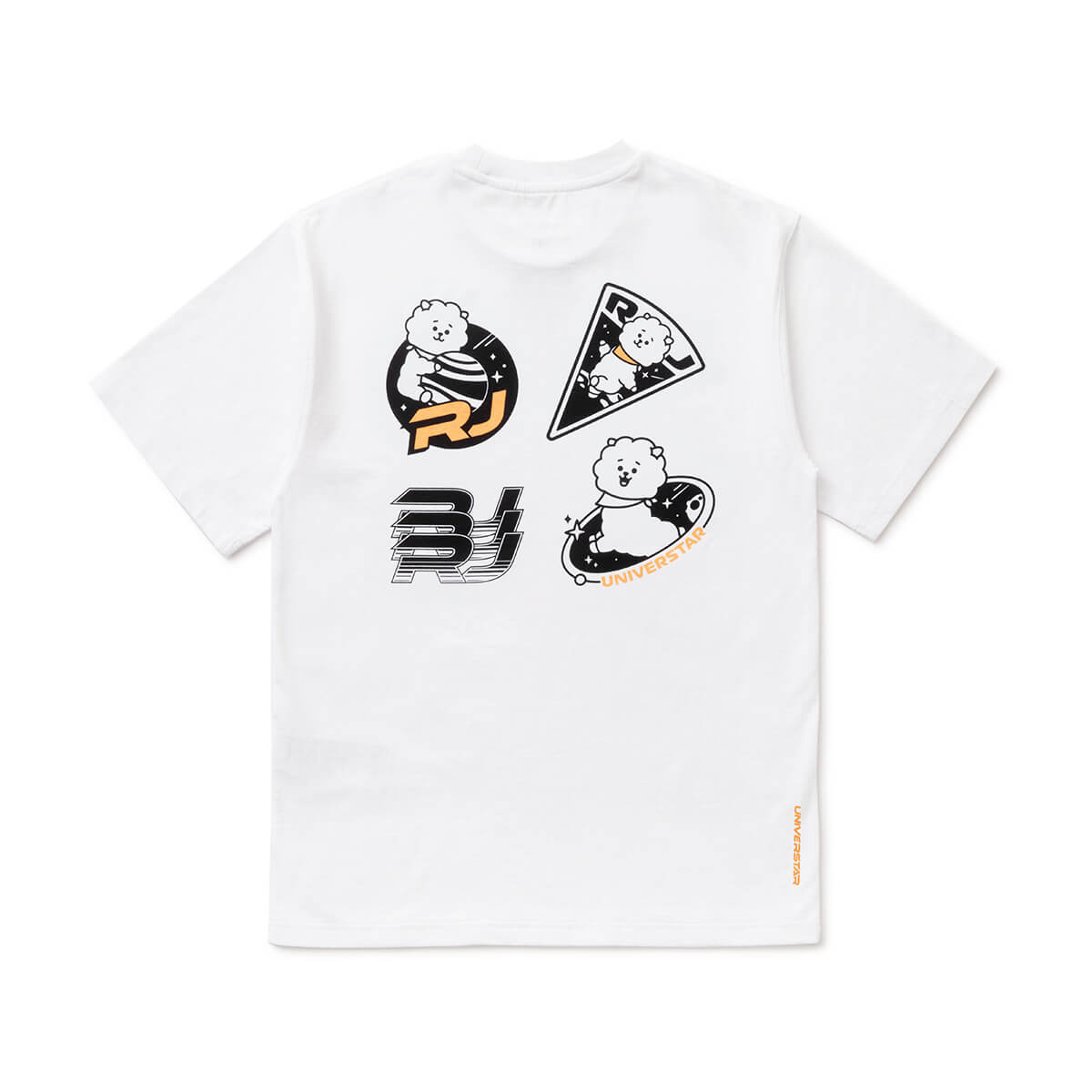 BT21 RJ 20 Space Wappen T-Shirt White