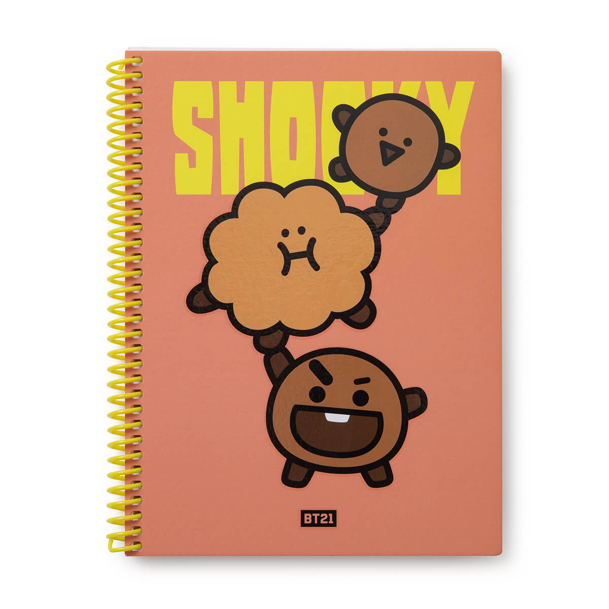 BT21 SHOOKY Heart Spring Notebook