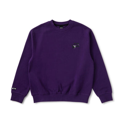 BT21 CHARACTERS Space Squad Sweater Purple