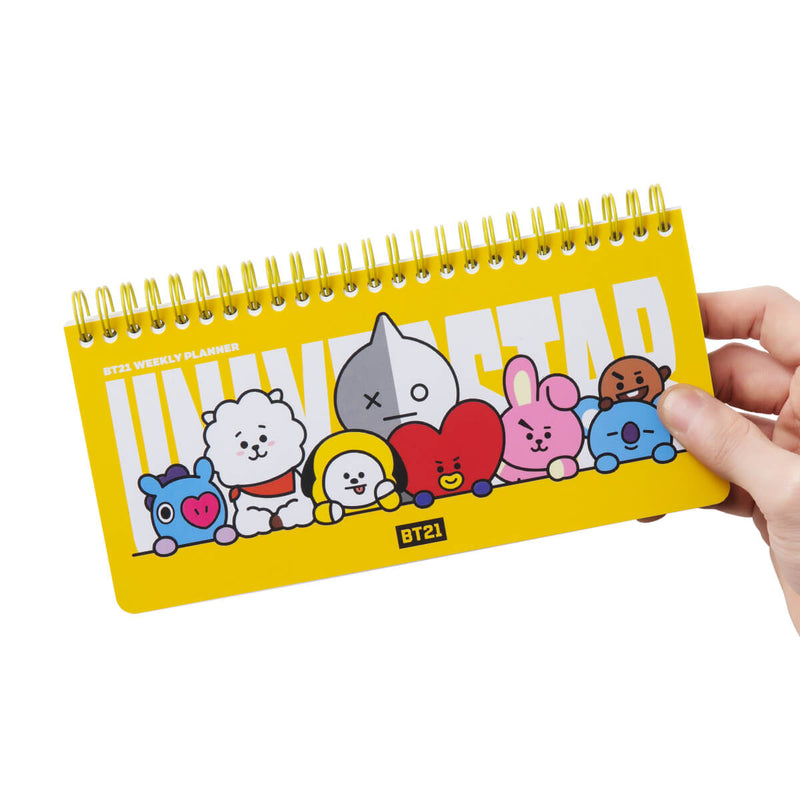 BT21  Heart Weekly Planner