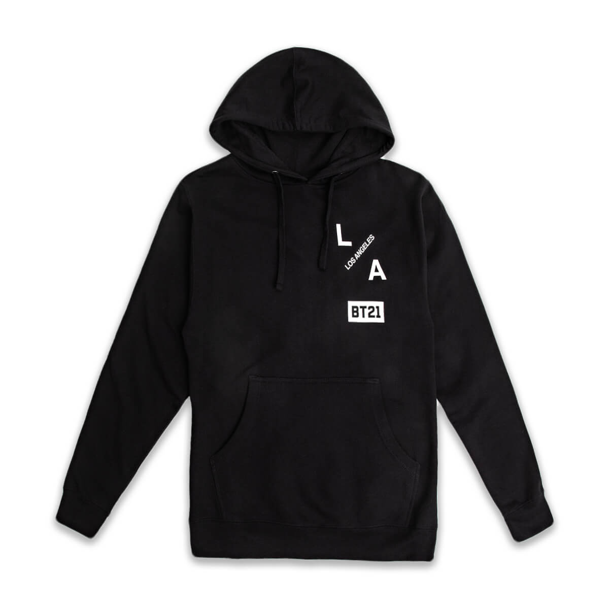 BT21 Group LA Hoodie Black