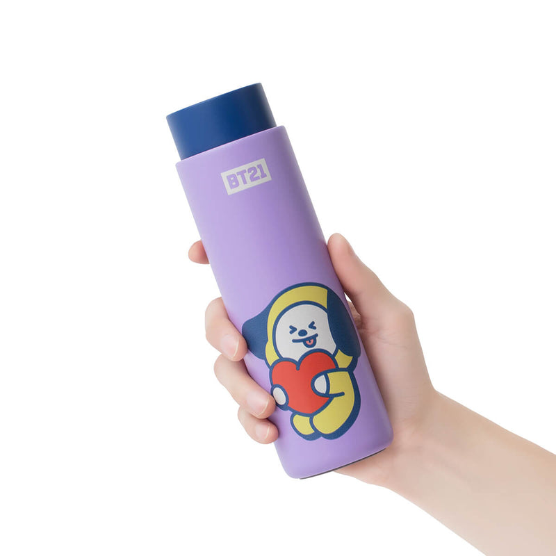 BT21 CHIMMY Lock & Lock Slim Tumbler + Bag Set