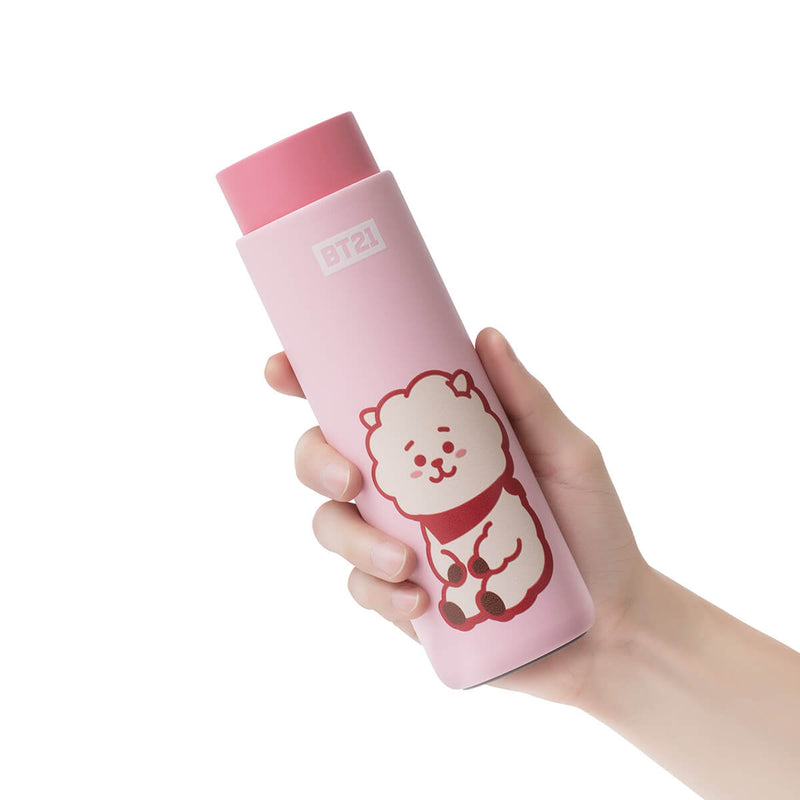 BT21 RJ Lock & Lock Slim Tumbler + Bag Set