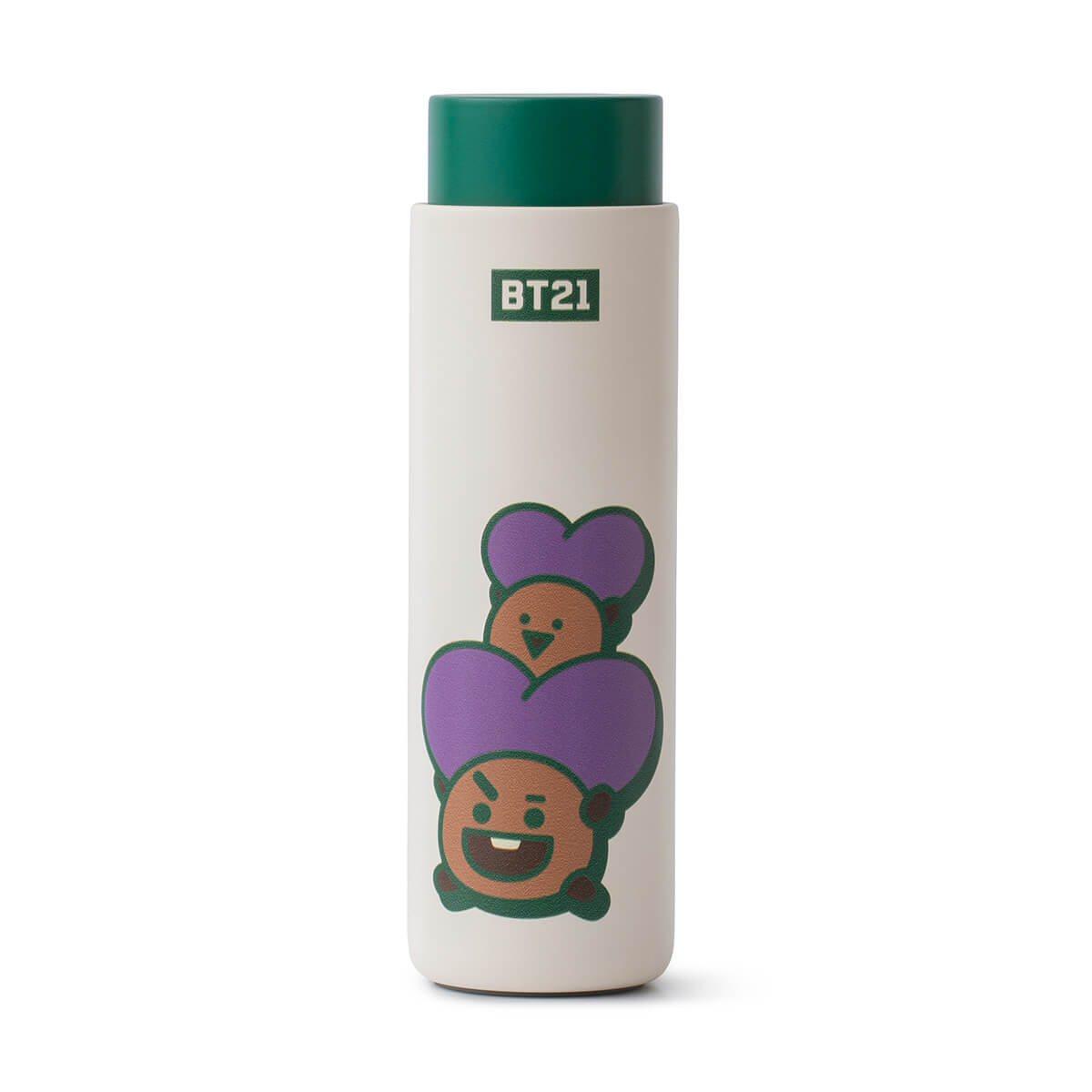 BT21 SHOOKY Lock & Lock Slim Tumbler + Bag Set