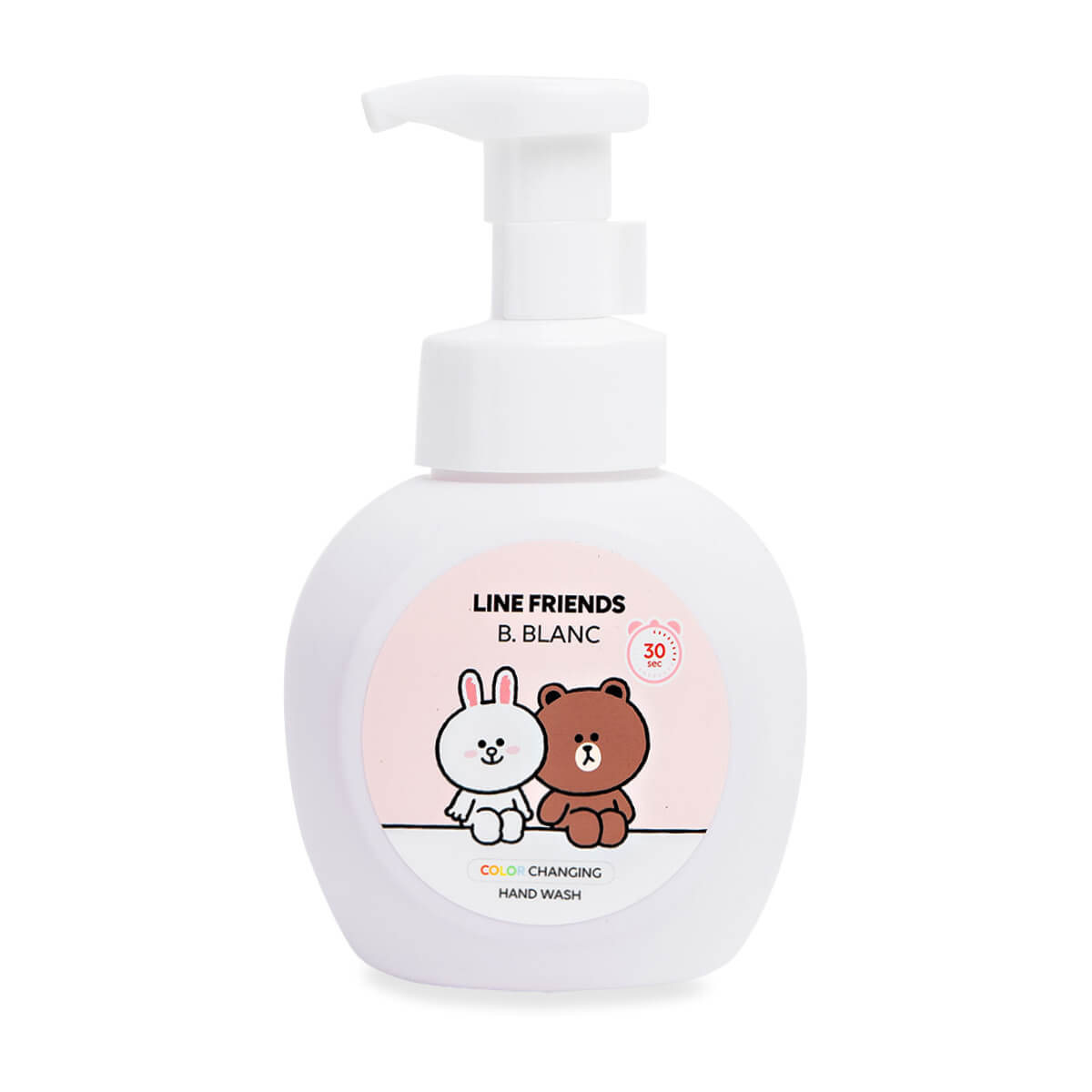 LINE FRIENDS X B. BLANC Color-Changing Hand Soap