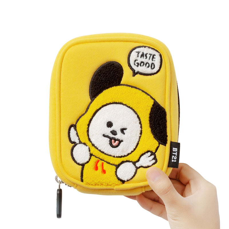 BT21 CHIMMY Bite Ppogeul Pouch