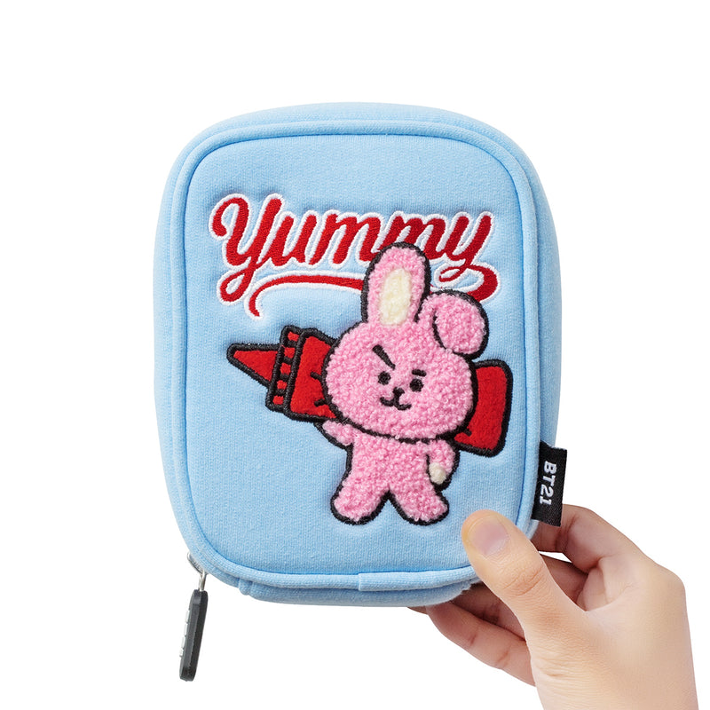 BT21 COOKY Bite Ppogeul Pouch