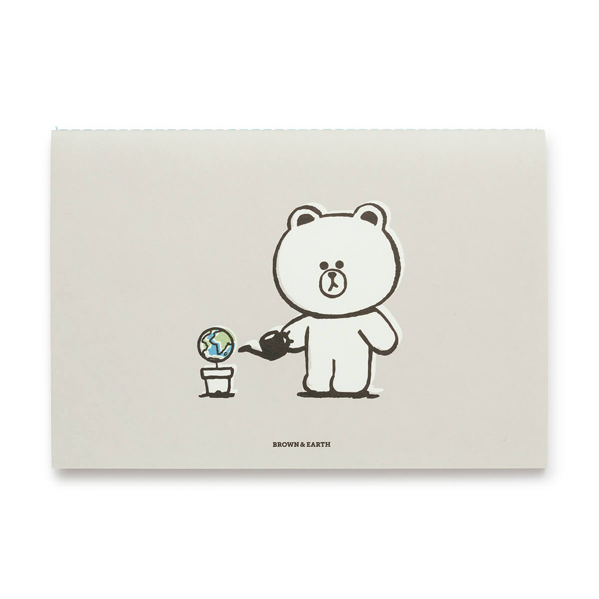 LINE FRIENDS BROWN & Earth Monthly Planner