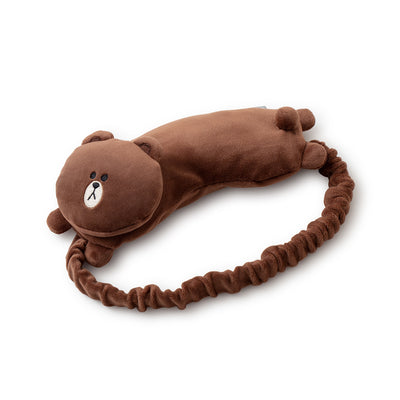 BROWN Doll Sleeping Masks