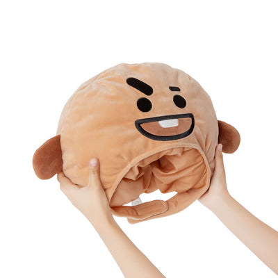 BT21 SHOOKY Plush Bighead Doll Hat