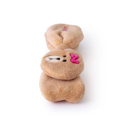 LINE FRIENDS CHOCO Ribbon Hair Band