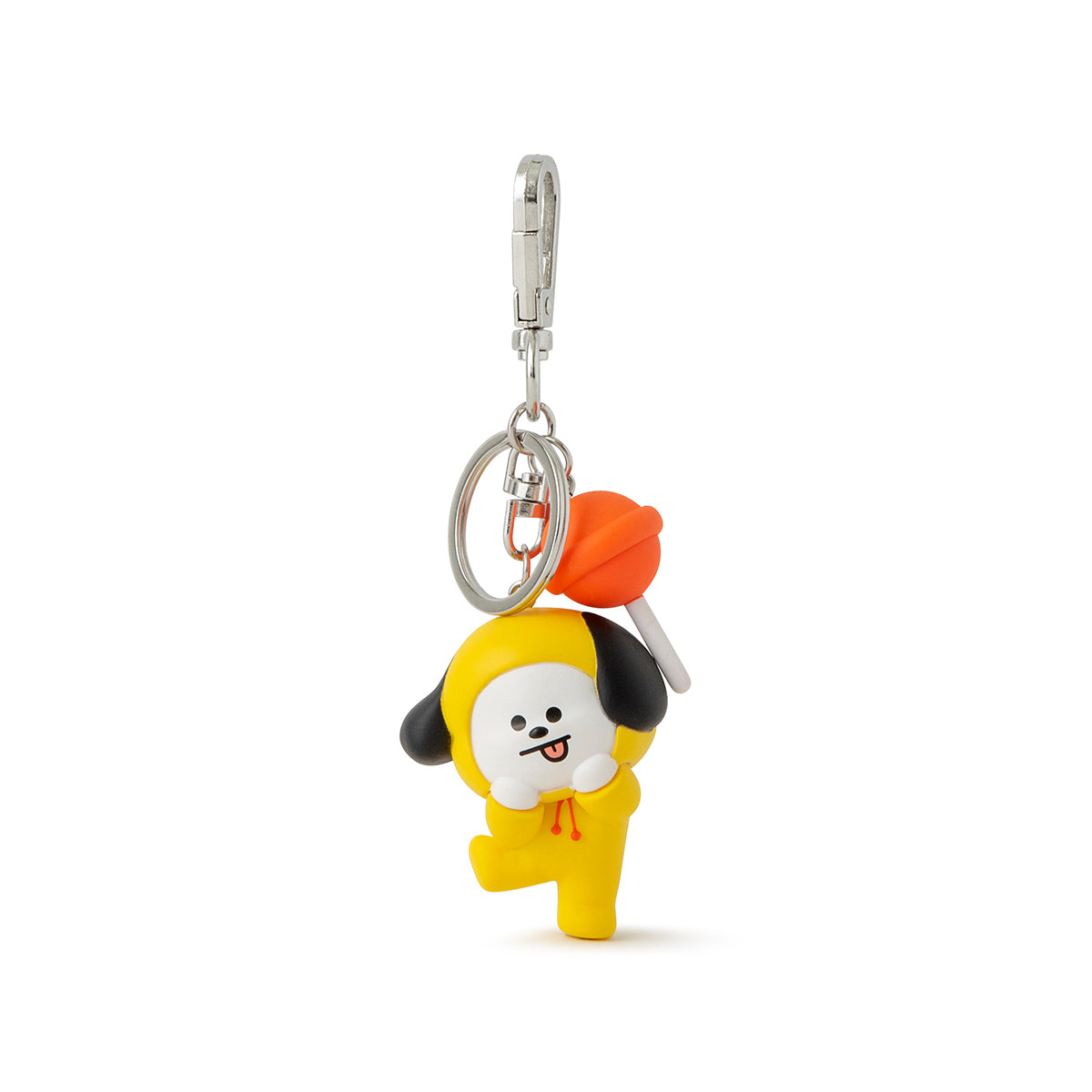 BTS BT21 Character Mini Rubber Figure Keyring Key Chain Great gifts for bts fan