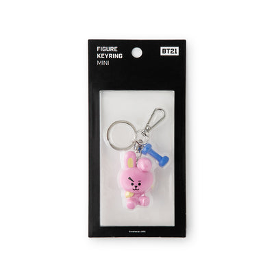 BT21 COOKY Mini Figure Keyring