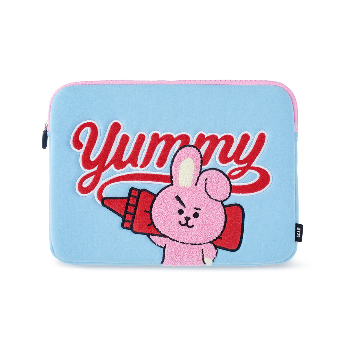 BT21 COOKY Bite Ppogeul Laptop Sleeve 13""
