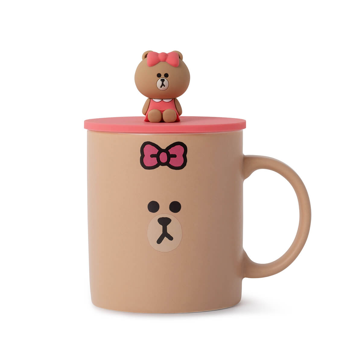 LINE FRIENDS CHOCO Basic Mug Cup and Cover