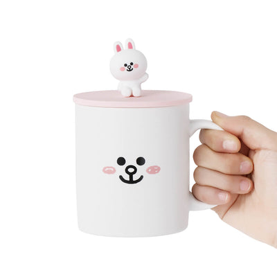 LINE FRIENDS CONY Basic Mug Cup and Cover
