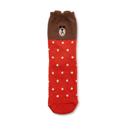 BROWN Adult Sleeping Socks