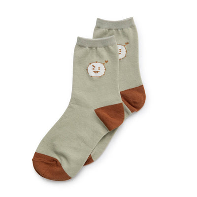 BT21 SHOOKY Universtar Quarter Socks