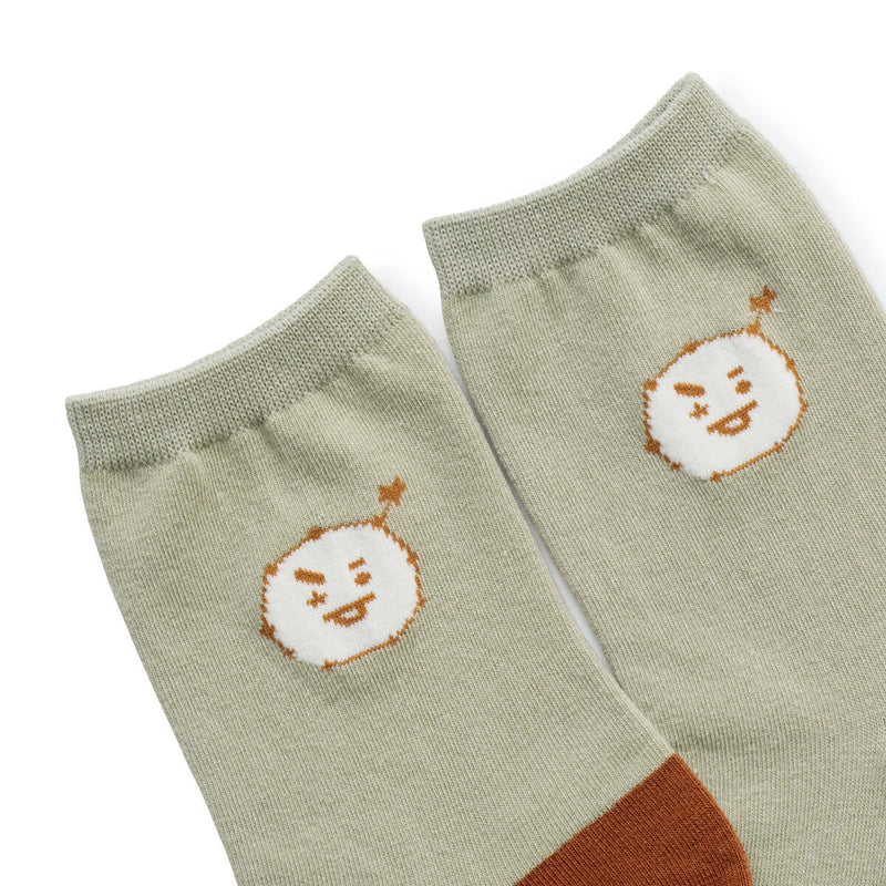 BT21 SHOOKY Universtar Adult Socks 23-27cm