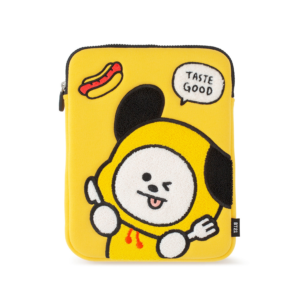 BT21 CHIMMY Bite Ppogeul Tablet Pouch 10""
