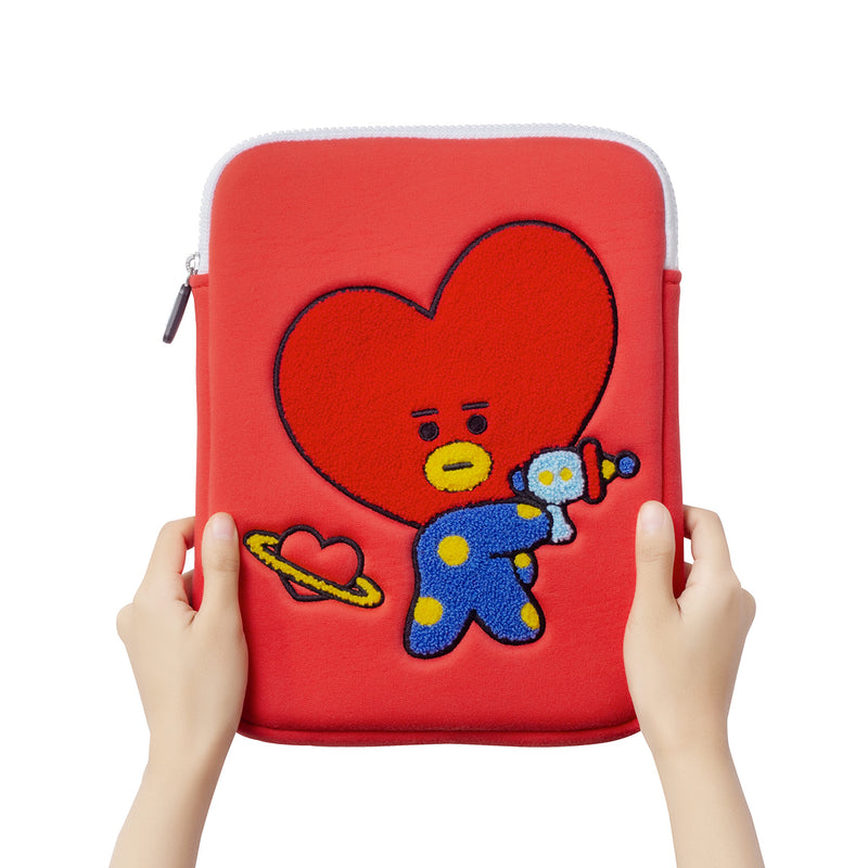 BT21 TATA Bite Ppogeul Tablet Pouch 10""