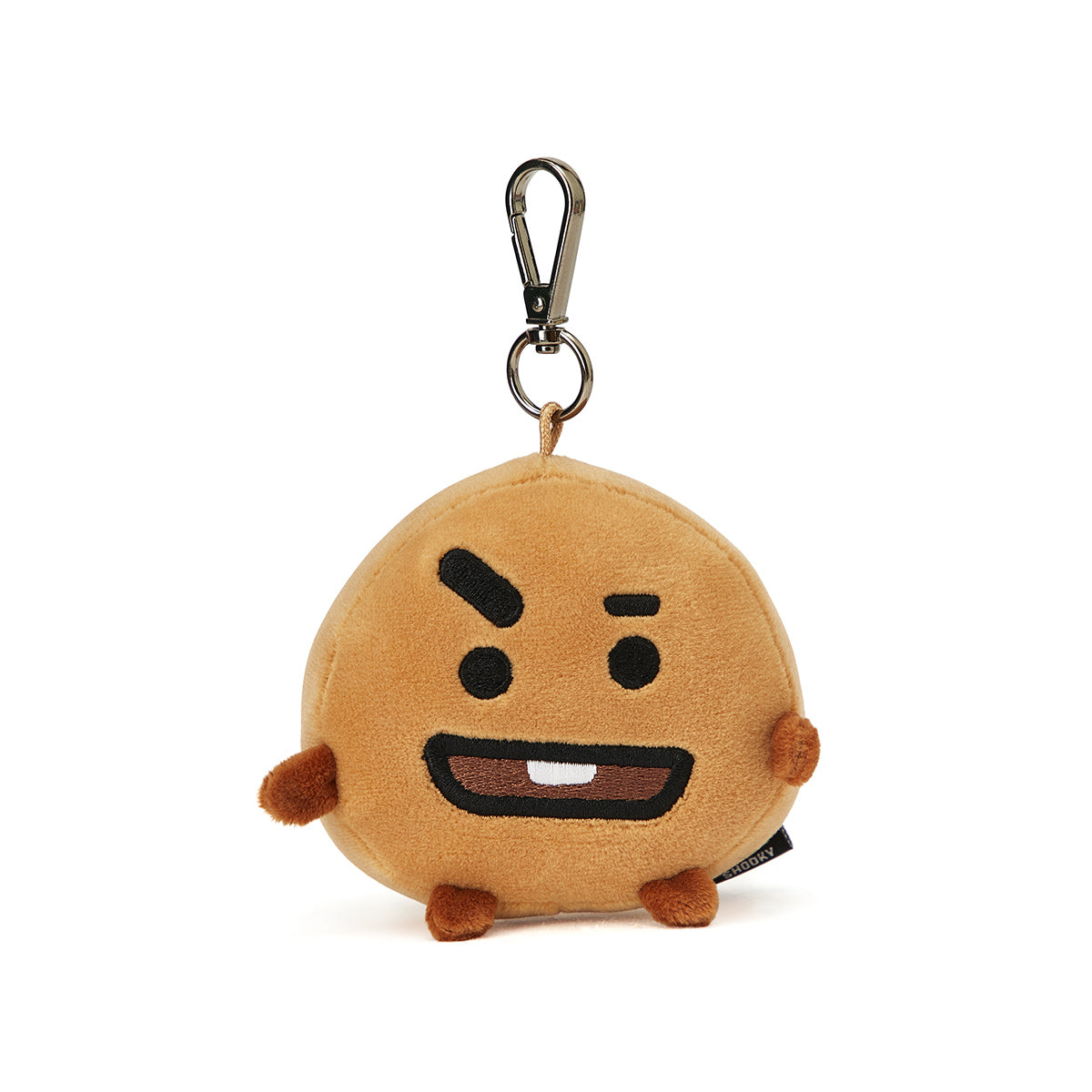 BT21 SHOOKY Face Plush Keychain