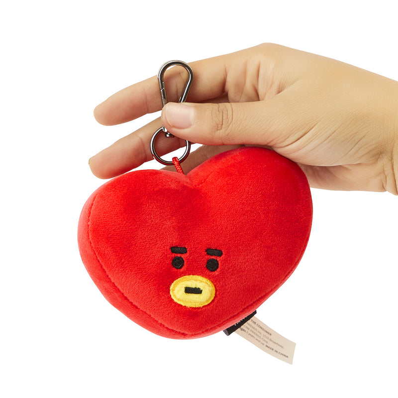 BT21 TATA Face Plush Keychain